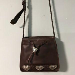 Brighton brown bucket bag